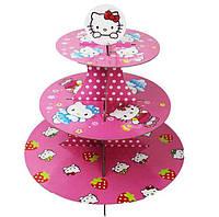 """Подставка для капкейков """"Hello Kitty"""""""