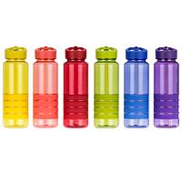 Спортивная бутылка для воды с трубочкой Smile 750 мл