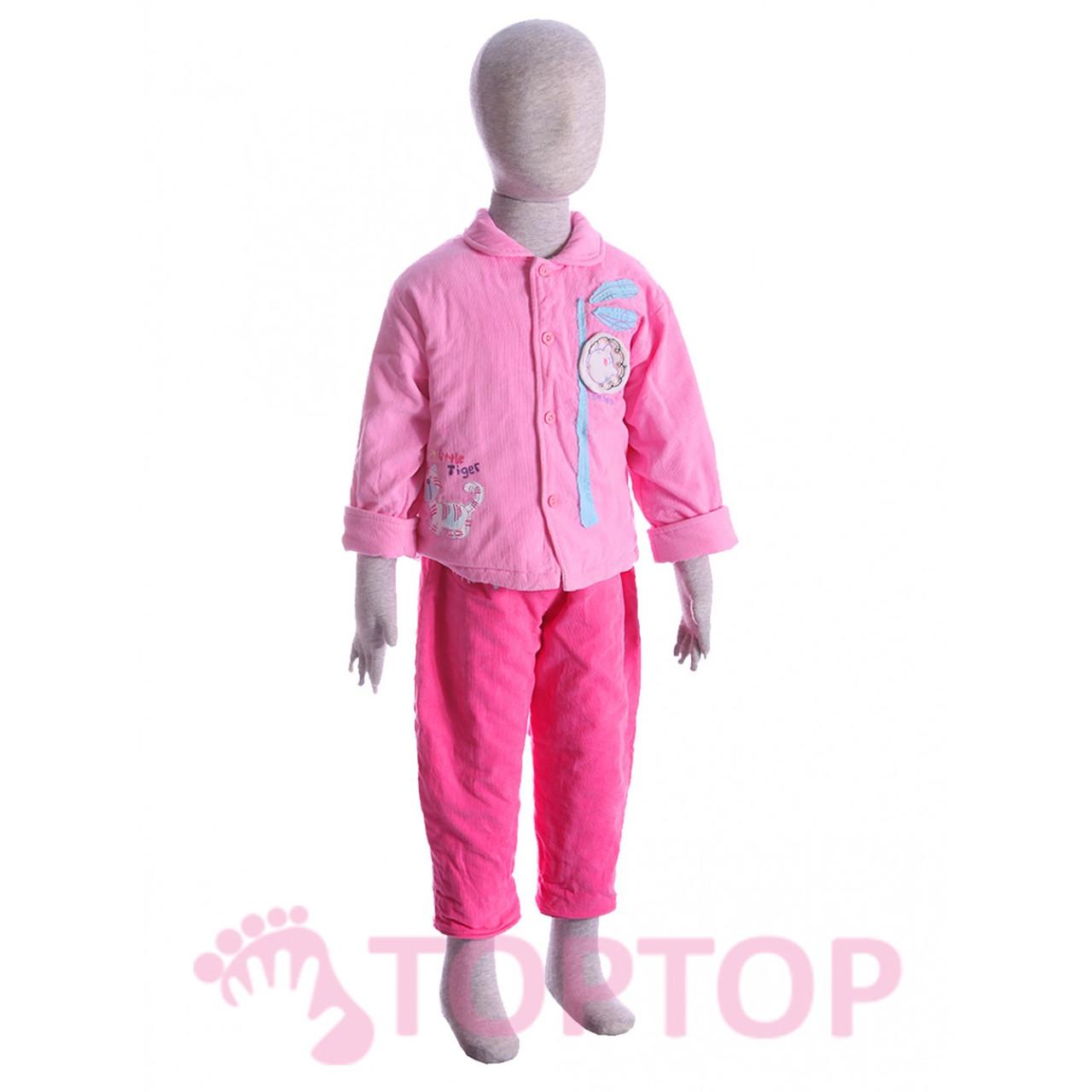 Комбинезон с курткой розовый (1-2 года)