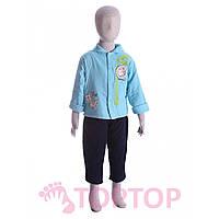 Комбинезон с курткой голубой (1-2 года)