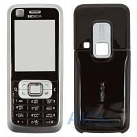 Корпус Nokia 6120c с клавиатурой, передняя и задняя панель Silver