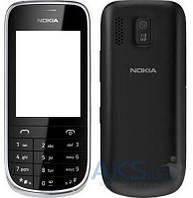 Корпус Nokia 202 Asha Black