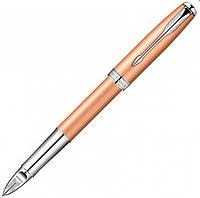 Ручка роллер Parker Sonnet Pink Gold CT 5TH желтая (золотая) с родиево-палладиевой отделкой 85 552R