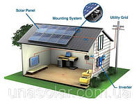 Мережева сонячна електростанція на 4 кВт