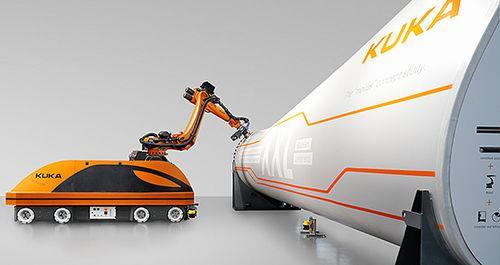 KMR QUANTEC – мобильная  робототехническая система