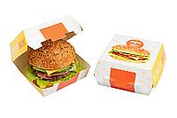Бургер бокс/Стандартный дизайн