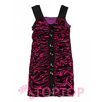 Платье бархатное фиолетовое ( 8-14 лет)