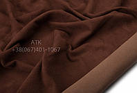 Замша стрейчевая светло-коричневый