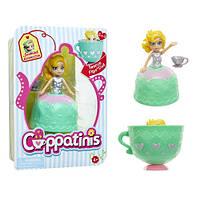 Кукла CUPPATINIS S1 - ЖАСМИН МИНТИ (10 см, с аксессуаром)