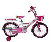 """Детский велосипед для девочек Crosser Rider 18"""""""
