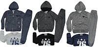 Спортивные костюмы-тройка для мальчиков трикотажные 146р. из Венгрии