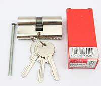 Cisa Pratic 60мм 30х30 ключ/ключ никель (Италия)