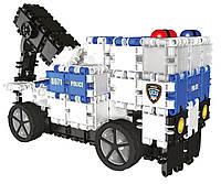 """Конструктор 290 деталей """"Полиция"""" 9 в 1 в контейнере Clics CD003"""