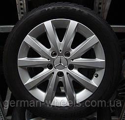 16 зимние колеса диски на Mercedes B-Class W246