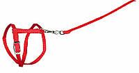 Шлея+поводок Trixie Harness with Leash для грызунов нейлоновый, 25-44 см, фото 1