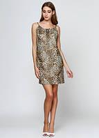 9849 Платье летнее леопардовое: imprezz.com.ua