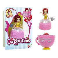 Кукла CUPPATINIS S1 - ЛИЗА МОККО (10 см, с аксессуаром)
