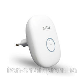 Wi-Fi повторитель Netis E1+ White Range Extender, 300Mbps, travel Router