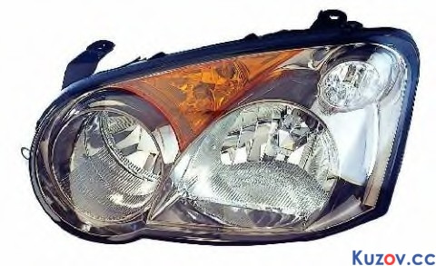 Фара Subaru Impreza 03-05 правая (Depo) черн. электрич. 220-1111R-LDEM7 84001FE380