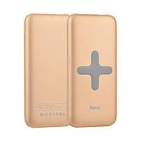 Внешний аккумулятор HOCO B11-8000 Wireless Charger (8000mAh) Gold