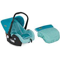 Детское автокресло LIFESAVER(от 0 до 13 кг) - Bertoni - Болгария - возможна установка на переднем сиденье aquamarine