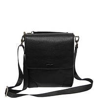 Мужская сумка, турецкой фирмы Karya, черного цвета