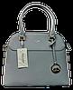 Элегантная женская сумочка DAVID DJONES желтовато-серого цвета VRX-087554