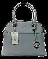Элегантная женская сумочка DAVID DJONES желтовато-серого цвета VRX-087554, фото 1