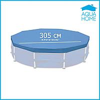 Тент для каркасного круглого бассейна 305 см Intex 28030 (58406)