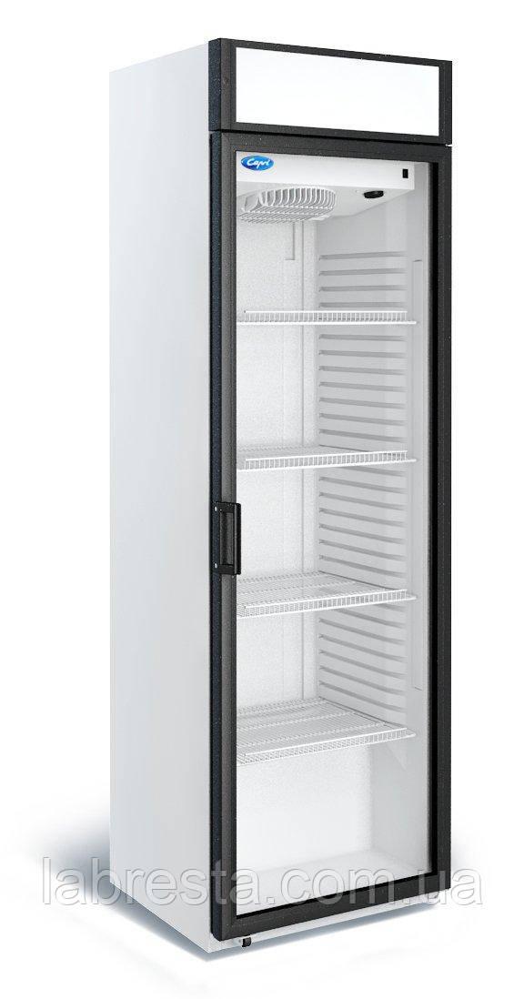 Холодильный шкаф Капри П-390 СК с лайтбоксом (0...+7°С)