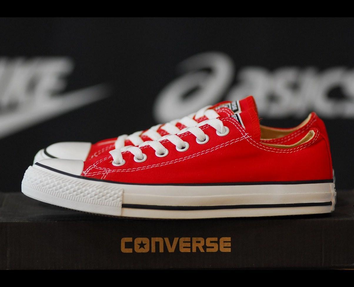 Converse All Star Low Red   кеды мужские и женские  красные  конверс, ... 846f743d784