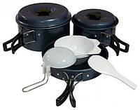 Набор посуды походный с антипригарным покрытием Tramp TRC-023