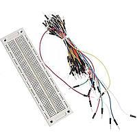 PCB макетная монтажная плата SYB-120 + джемперы