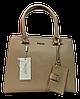 Прелестная женская сумочка DAVID DJONES желтовато-коричневого цвета YRP-033324