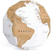Скрэтч-карта мира Глобус Scratch Globe (на английском)