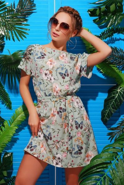 Легкое летнее платье из супер софта Разные цвета