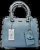 Прелестная женская сумочка DAVID DJONES голубого цвета YRP-086436