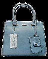 Прелестная женская сумочка DAVID DJONES голубого цвета YRP-086436, фото 1