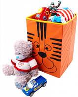 Детский ящик для хранения игрушек Тигр (большой)