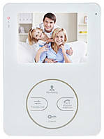 Цветной видеодомофон Myers M-44SD White