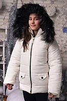 Зимова тепла курточка аляска підліток