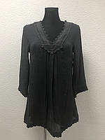Темно-серая блуза-туника Alise Bizous