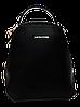 Женский рюкзак-сумка DAVID DJONES черного цвета OOP-006543 mini