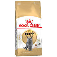 ROYAL CANIN BRITISH SHORTHAIR ADULT БРИТАНСКАЯ КОРОТКОШЕРСТНАЯ СТАРШЕ 12 МЕСЯЦЕВ 4КГ