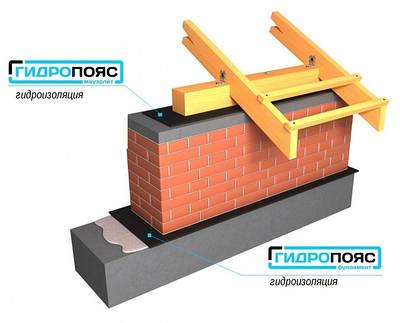 Гидропояс - горизонтальная гидроизоляция ленточного типа из PVC и HDPE