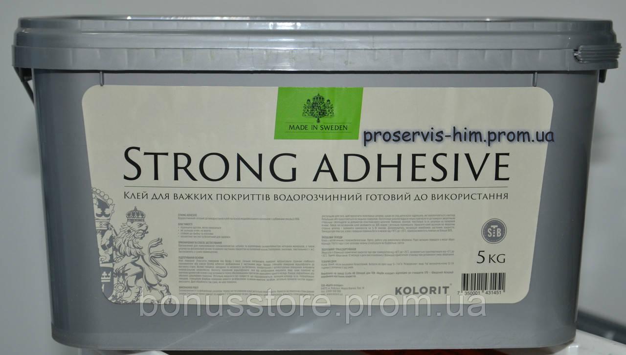 Клей Колорит для стеклообоев и стеклохолста Strong Adhesive 5л - ПРОФ-ХИМ express в Виннице