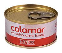 Кальмари Hacendado Calamar en salsa americana, 80 г