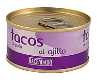 Восьминіг консервований Hacendado Tacos al Ajillo, 80 г