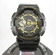 Часы Casio G-Shock ga-110 Black-Gold. ТОП качество!