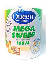 Бумажные полотенца отрывные Queen 100m (Польша)